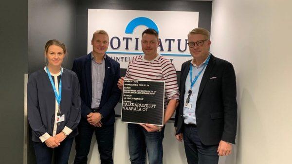 Oululaisen Talkkaripalvelut Vaarala Oy:n liiketoiminta osaksi Kotikatua