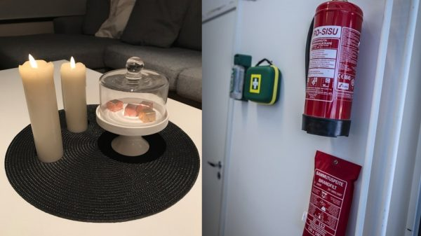 Paloturvallisuus on taloyhtiön ja asukkaiden yhteistyötä
