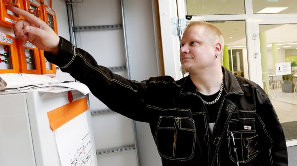 Kiinteistöhoidon opiskelija Janne Warell: Tässä työssä saa auttaa ihmisiä